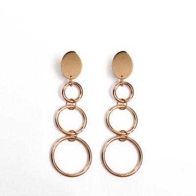 BR.09 Talia Earrings bronze orecchini bronzo Metropolis Algares Alba Gallizia 1