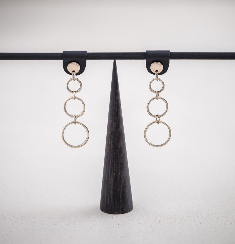 BR.09 Talia Earrings bronze orecchini bronzo Metropolis Algares Alba Gallizia 1