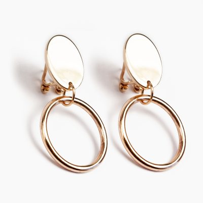 BR.11 Lara Earrings bronze orecchini bronzo Metropolis Algares Alba Gallizia