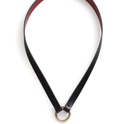 CU.03 Oscar Leather collar collare pelle Metropolis Algares Alba Gallizia