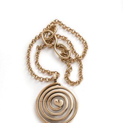 Circle of Love 1 collezione bronzo Algares Alba Gallizia1