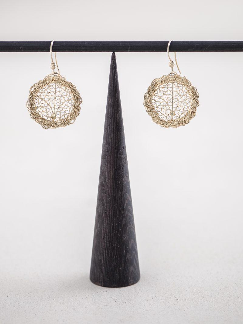 Flora Orecchini collezione Gioielli Filigrana Alba Gallizia Design Algares1