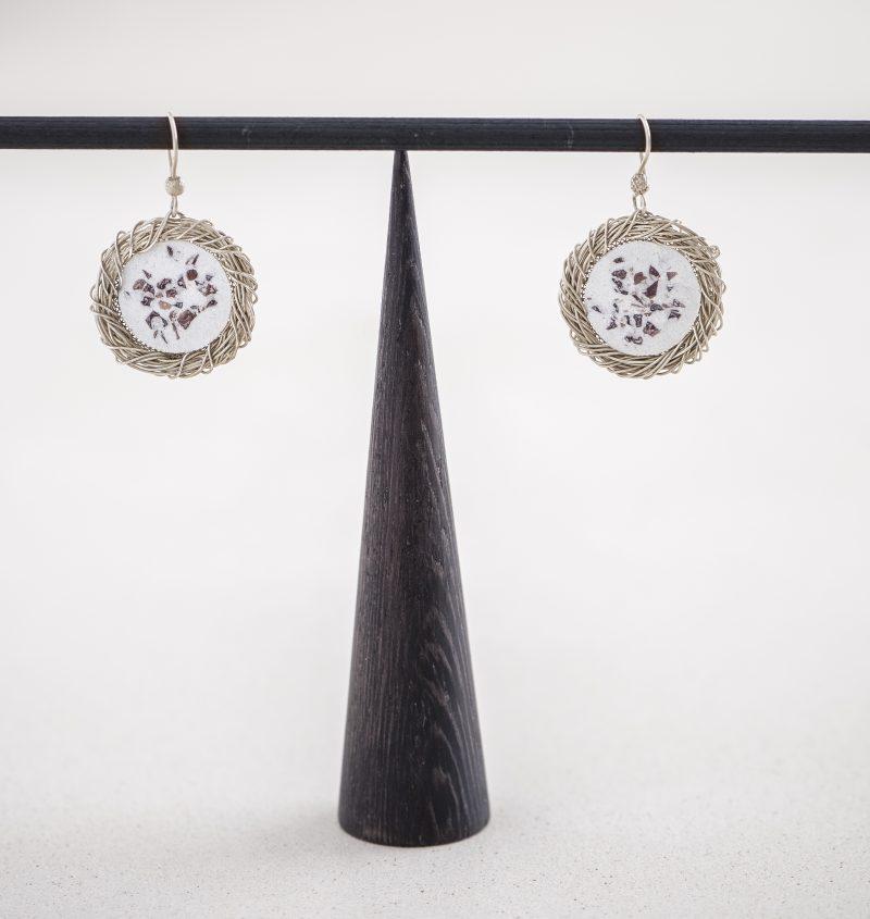 Orecchini Licia collezione Gioielli Filigrana Alba Gallizia Design Algares