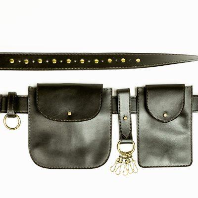 PO Cintura portaoggetti Leather belt Metropolis Algares Alba Gallizia