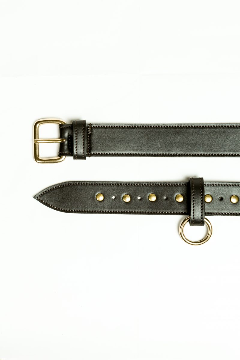 PO Cintura portaoggetti Leather belt Metropolis Algares Alba Gallizia