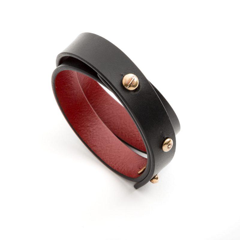Tito collezione Gioielli Cuoio Alba Gallizia Design Algares