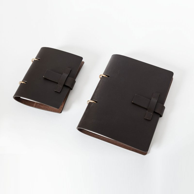 MT.06 A6 Notebook agenda leather Metropolis Algares Alba Gallizia