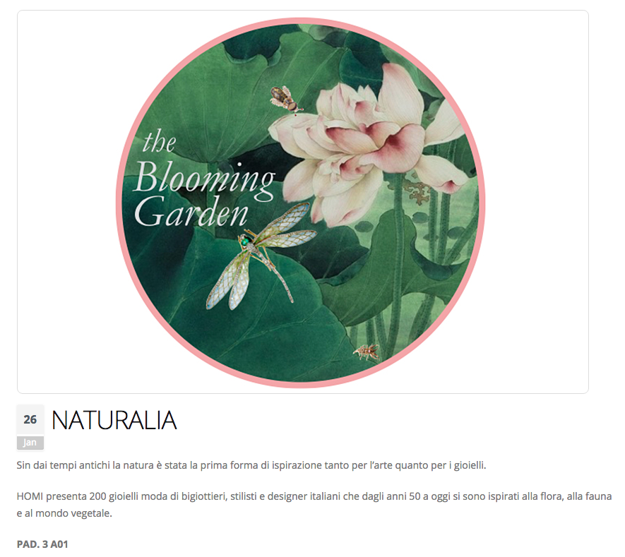 Naturalia-Blooming garden