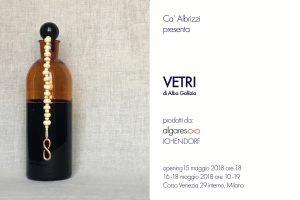 AlgareS - VETRI - Ca' Albrizzi invito